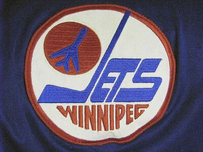 A 1980s Winnipeg Jets team jersey logo. (Ken Gigliotti / Winnipeg Free Press files)