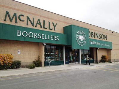 The McNally Robinson Booksellers store at Grant Park Shopping Centre.