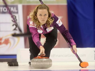 Manitoba's Chelsea Carey (pictured) and Ontario's Sherry Middaugh will play again on Friday afternoon at 1:30 p.m. to fight for the third-place spot.