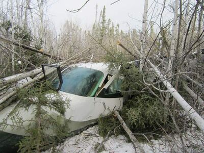Seven passengers survived a plane crash in Snow Lake on Sunday. Pilot and local resident Mark Gogal died in the crash.
