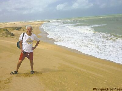 Punta Gallinas is home to six Wayuu families on the Guajara Peninsula, the most northerly tip of South America.