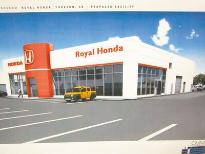 Terry Ortynsky has opened Royal Honda in Yorkton, Sask.