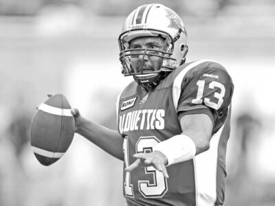 John Kenney / Postmedia News ArchivesAnthony Calvillo is the only quarterback over the 2,000-yard mark in passing yards this season