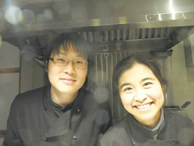 MAUREEN SCURFIELD / WINNIPEG FREE PRESSAll About Thai owned by two working engineers, Pinita  Pirompak (left) and Helix Li.