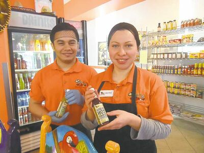 Francisco Pereira and Beatriz Alas of JC�s Tacos and More