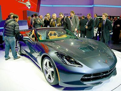 The new C7 was unveiled at this year's Detroit Auto Show and generated a huge buzz.