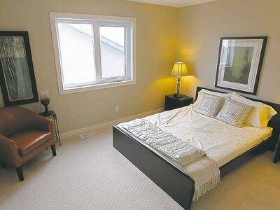 The upper level is comprised of four spacious bedrooms.