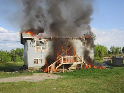 A young girl pleaded guilty Friday to burning down a family's home on Bloodvein First Nation on June 5.