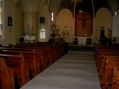 Sacred Heart Church was restored to its original beauty thanks to fundraising by its parishioners.