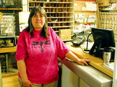 Maggie Crompton has operated Starbuck's Dawn Til Dusk Convenience Store with husband Jack for 14 years.