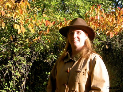 Heather Hinam enjoys teaching people about the joys of nature.