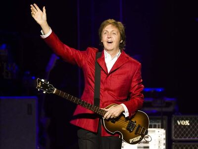 Paul McCartney performs in Montreal in 2011. He will play Winnipeg on Aug. 12.