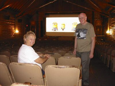 Theatre owners Bev and Jim Gowler.