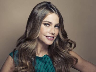 Columbian actress Sofia Vergara from Modern Family.