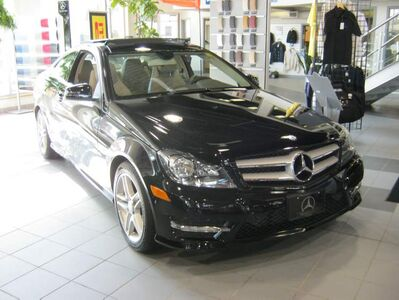 M-B Winnipeg welcomed the redesigned 2012 C-Class coupe.