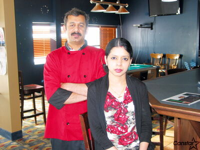 Manoj Kumar and Ambily Manoj received support from Community Futures White Horse Plains when they took over the Roadhouse Eatery in Headingley.