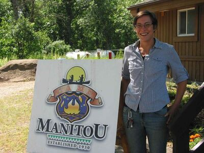 Camp Manitou director Kelly Giddings and staff are busy with summertime camp programs.