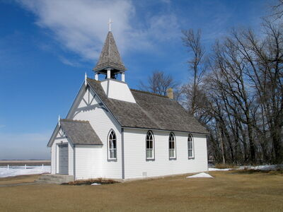 St. Paul's Anglican Church in the RM of St. François Xavier is a designated municipal historic site. Gordon Goldsborough, secretary for the Manitoba Historical Society, is asking municipalities in the province to send him information on their municipal historic sites.