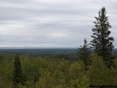 At 831 metres above sea level, Baldy Mountain is the highest point in Manitoba.