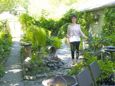 Charlotte Tataryn owns and operates gardening and landscaping company Charlotte's Place.