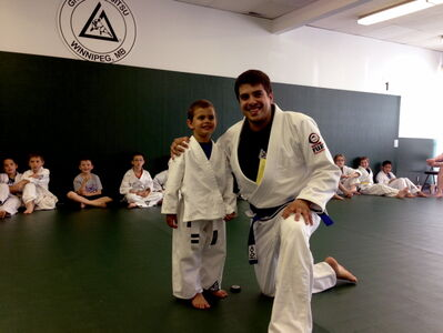 Michael Tavares is the head instructor and owner of Gracie Jiu-Jitsu Winnipeg, which recently moved from its Roblin location to Cavalier Drive at Hamilton Avenue.