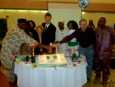 Manitoba's Nigerian community celebrated Nigeria's 52nd anniversary with an awards celebration the Centro Caboto Centre on Oct. 5.