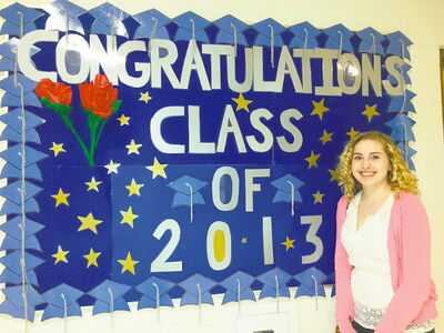 Sydni Masiowski, valedictorian for West Kildonan Collegiate's Class of 2013, hopes to return to Seven Oaks School Division as a high school teacher.