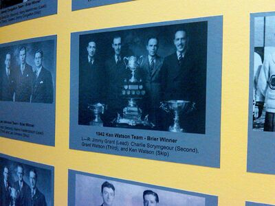 Ken Watson's curling team, Brier champs in 1942 (and also 1936 and 1949) will be inducted into the Manitoba Sports Hall of Fame on Nov. 2
