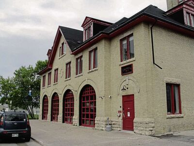 June 3, 2015 - Fire Hall No. 8, built in 1906 at 325 Talbot Ave. (SHELDON BIRNIE/CANSTAR COMMUNITY NEWS/THE HERALD)
