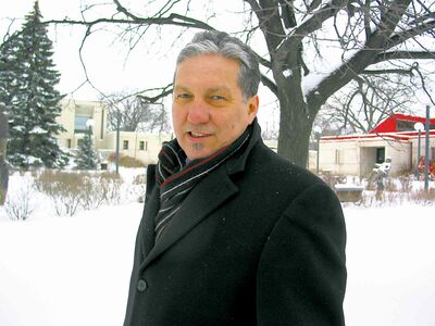 In this December 2012 file photo, Coun. Dan Vandal (St. Boniface) is pictured on Provencher Boulevard.