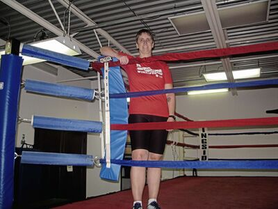 Joanne Conway leads boxing fitness classes for people living with Parkinson's disease and said many have been able to return to favourite activities.