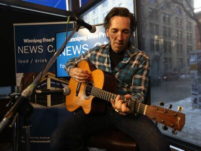 Fearing appeared at the Winnipeg Free Press News Café on Wednesday.