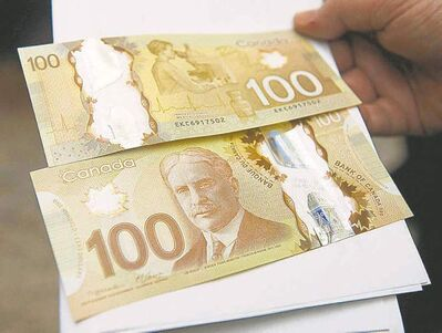 Nathan Denette / The Canadian Press archivesReports are circulating that Canada�s first polymer bank note can melt.