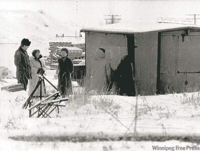 Derksen's frozen body was found in an abandoned shack on Jan. 17, 1985.