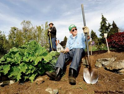 This garden in Vancouver is one of the few remaining Victory Gardens in Canada. There used to be more than 200,000 of them across the country