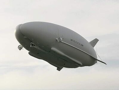 HAV's airship was built with Northrop Grumman. The U.S. Army shelved the project following budget cutbacks.