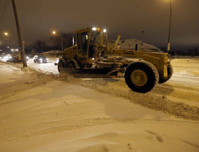 Snow overnight has triggered another round of city-wide snow clearing. By 6:30 a.m. most of the city's main roads were ploughed  or in the process of being cleaned.