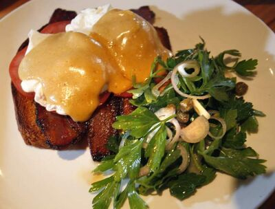 The Benny and the Jets dish at Deer + Almond.