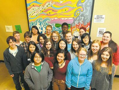 Kelvin High School students are raising funds to help relief efforts in tsunami-stricken Japan.