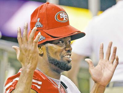 Mark Humphrey / the associated pressSan Francisco wide receiver Randy Moss believes a Super Bowl ring would make his NFL career complete.