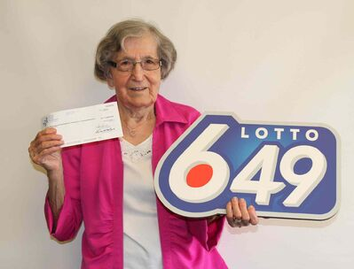 Maria Digel of Winnipeg won $6,986,491.90 in Lotto 6/49.