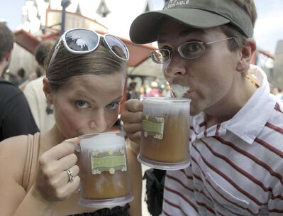 John Raoux /  The Associated Press files</p><p>Butterbeer, the fictional beverage enjoyed by wizards in J.K. Rowling&rsquo;s Harry Potter series.</p></p>