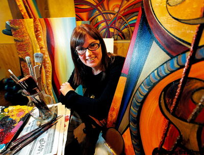 Entrepreneurial local painters aim for commercial acceptance, buck stereotype of starving artist