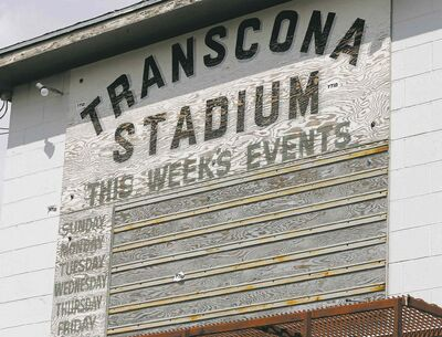 Transcona Stadium was thought to be replaceable, but the city has determined the facility will remain in use.