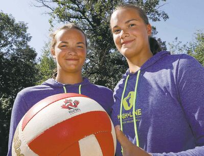 Josie (left) and Kearley Abbott credit their early success to their unique relationship.