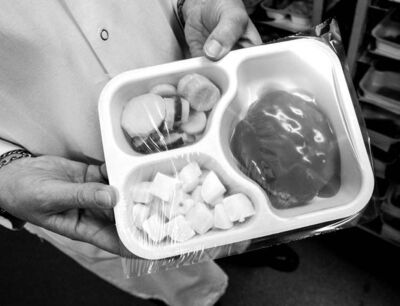 Some patients are still upset with the quality of hospital food.