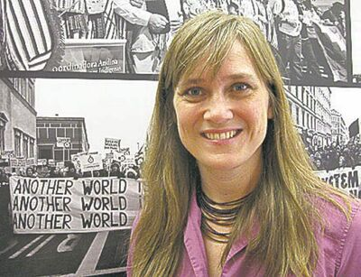 Jennifer Henry, new executive director of KAIROS, a social justice group.