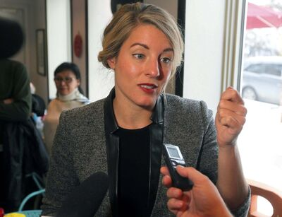 BORIS MINKEVICH / WINNIPEG FREE PRESS files</p><p>Heritage Minister Mélanie Joly claims the government supports news providers, but the assisted funding is insufficient for the needs of local papers.</p>