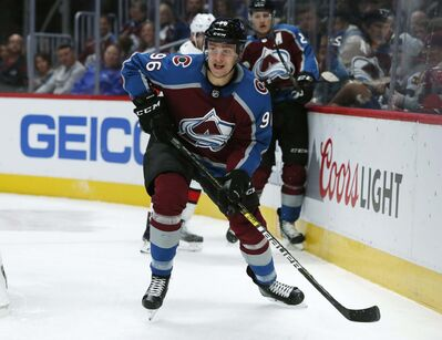 David Zalubowski / The Associated Press Files</p><p>Colorado Avalanche right wing Mikko Rantanen along with Gabriel Landeskog and Nathan MacKinnon form the top line in hockey. The speedy group has a combined 55 points this season as Rantanen leads the league in points. The trio has helped lift Colorado to one of the best marks in the Western Conference this season.</p>
