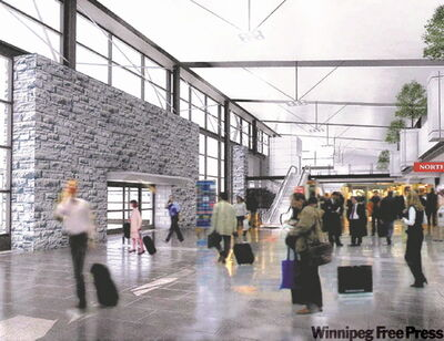 Grand Forks International Airport has a new terminal and is attracting many Manitobans to its cheap flights.